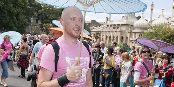 Participantes en el Orgullo Gay