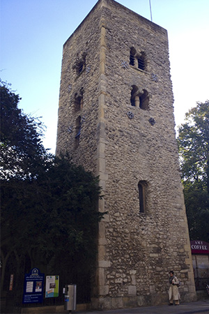 Torre Sajona donde se encerró a los mártires
