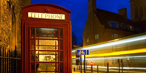 Cabina Telefónica Tradicional de Inglaterra