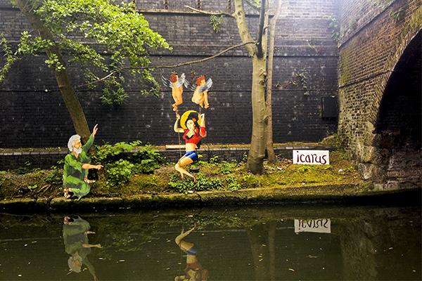 Homenaje a Amy Winehouse en Regent´s Canal