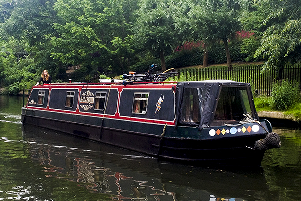 Casa-barco en Regent´s Canal