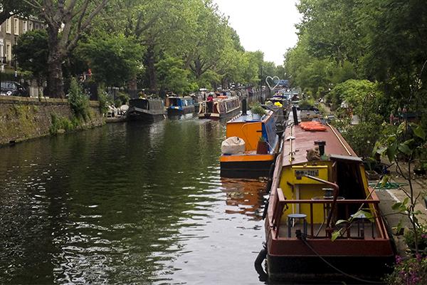 Canales en Camden