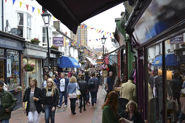 Mercados en Brighton