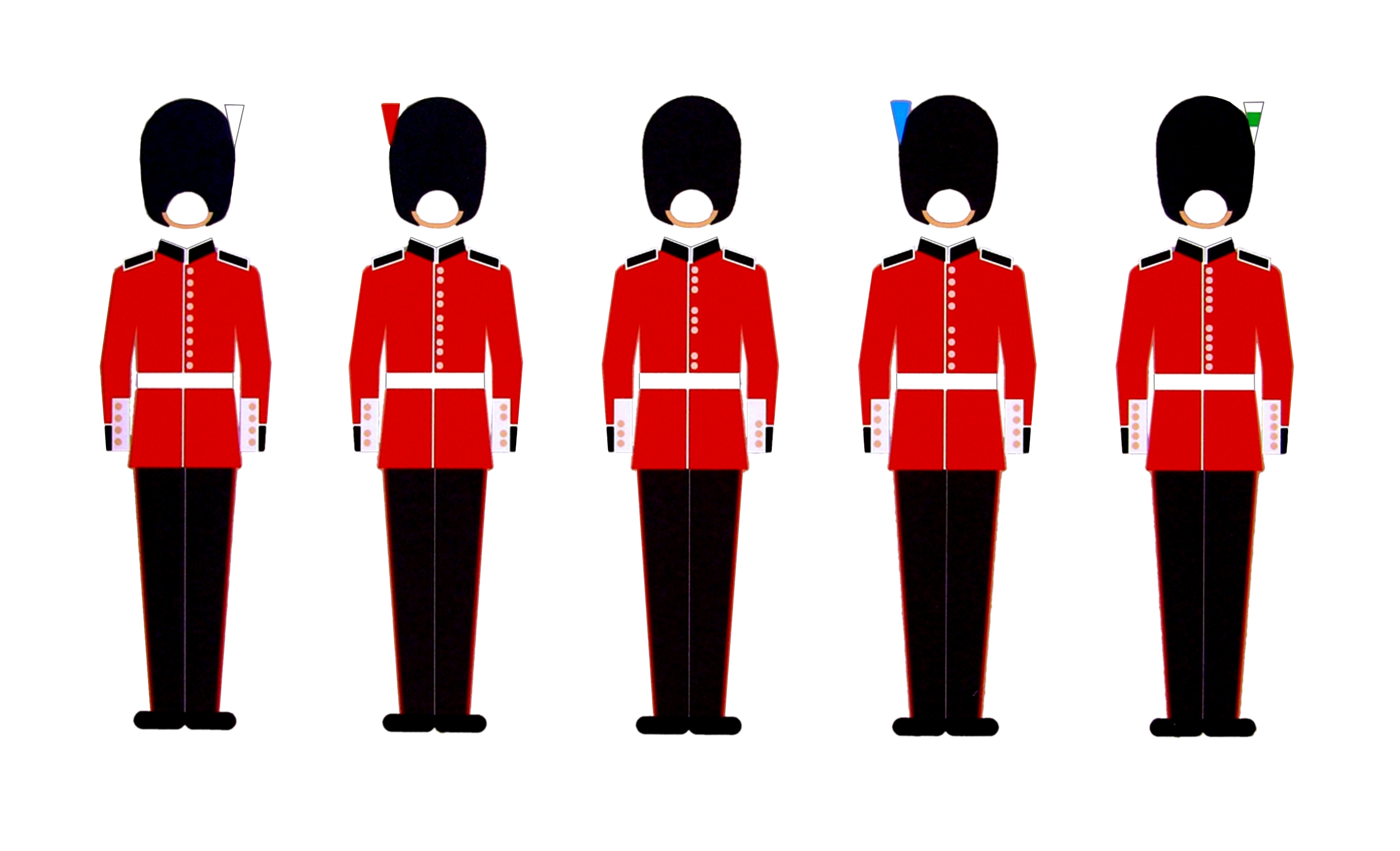 Guardias del Buckhingham Palace