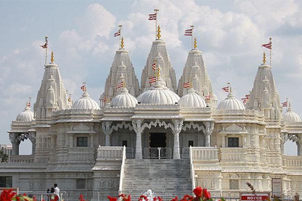 Templo Baps Shri Swaminarayan Londres