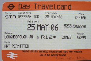 Travelcard de un día Londres