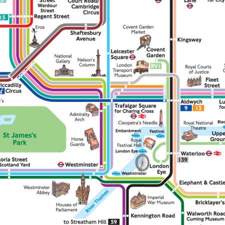 Mapa de Autobús