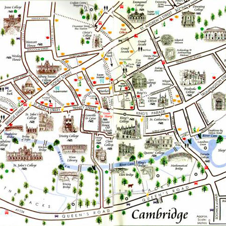 Mapa de Cambridge