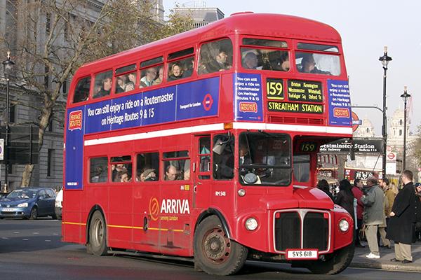 autobus 159 londres