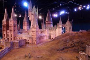 Maqueta a escala de Hogwarts