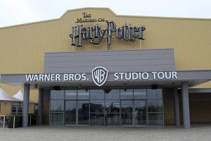 Entrada estudios Warner Bros de Londres