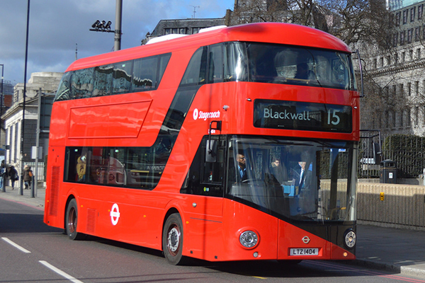 autobus 15 londres