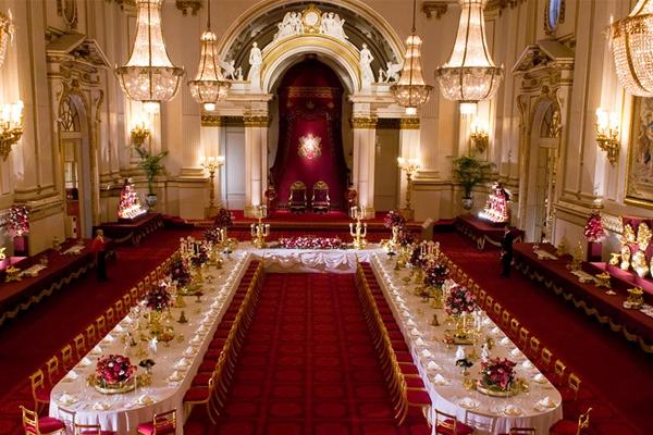 Ballroom Buckingham Palace