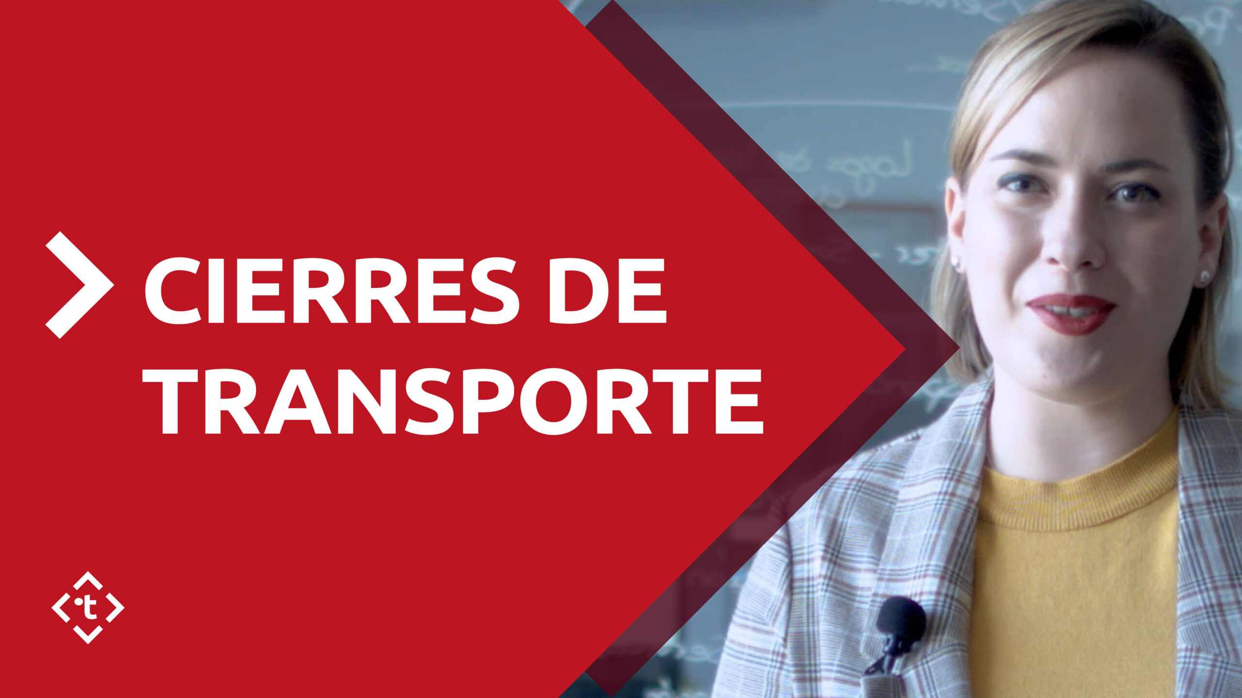 CIERRES DE TRANSPORTE