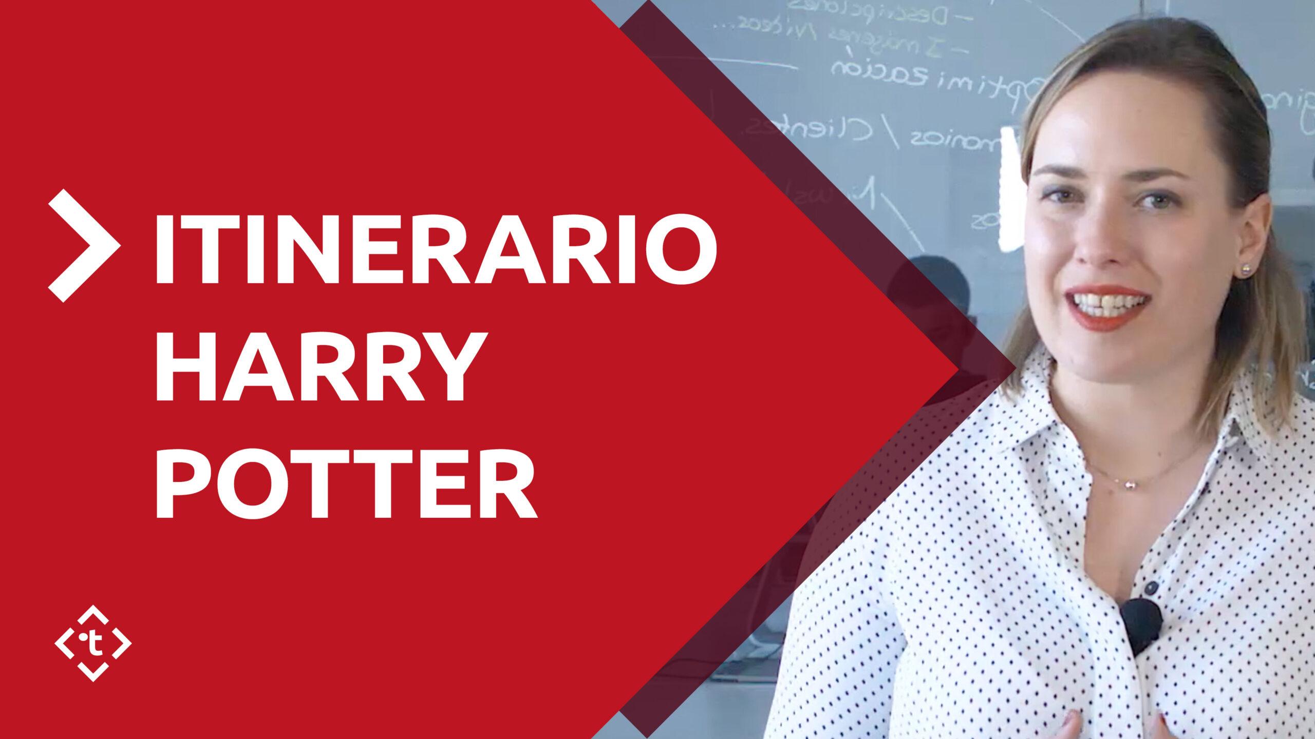 ITINERARIO DE HARRY POTTER