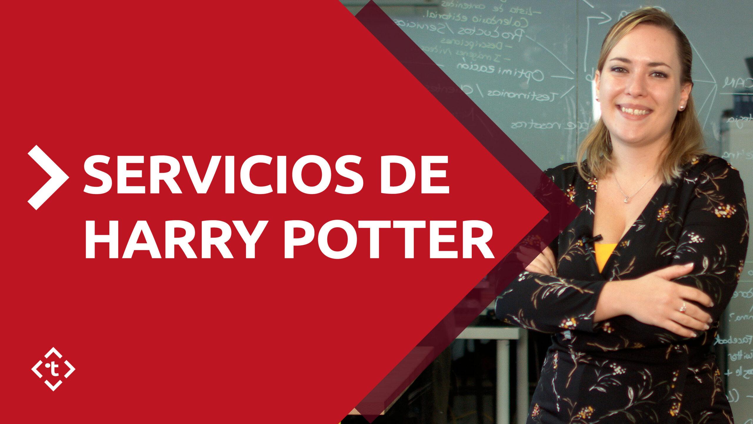 SERVICIOS DE HARRY POTTER