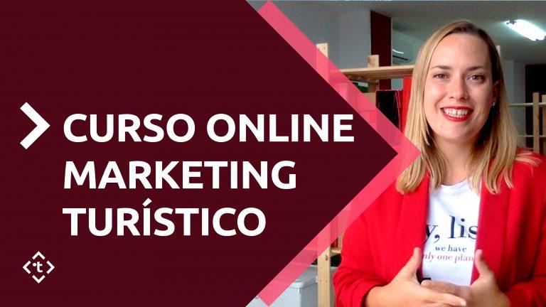 CURSO ONLINE MARKETING TURÍSTICO