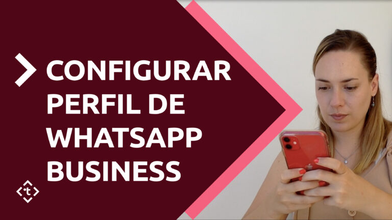 Configurar perfil Whatsapp Business agencias de viajes