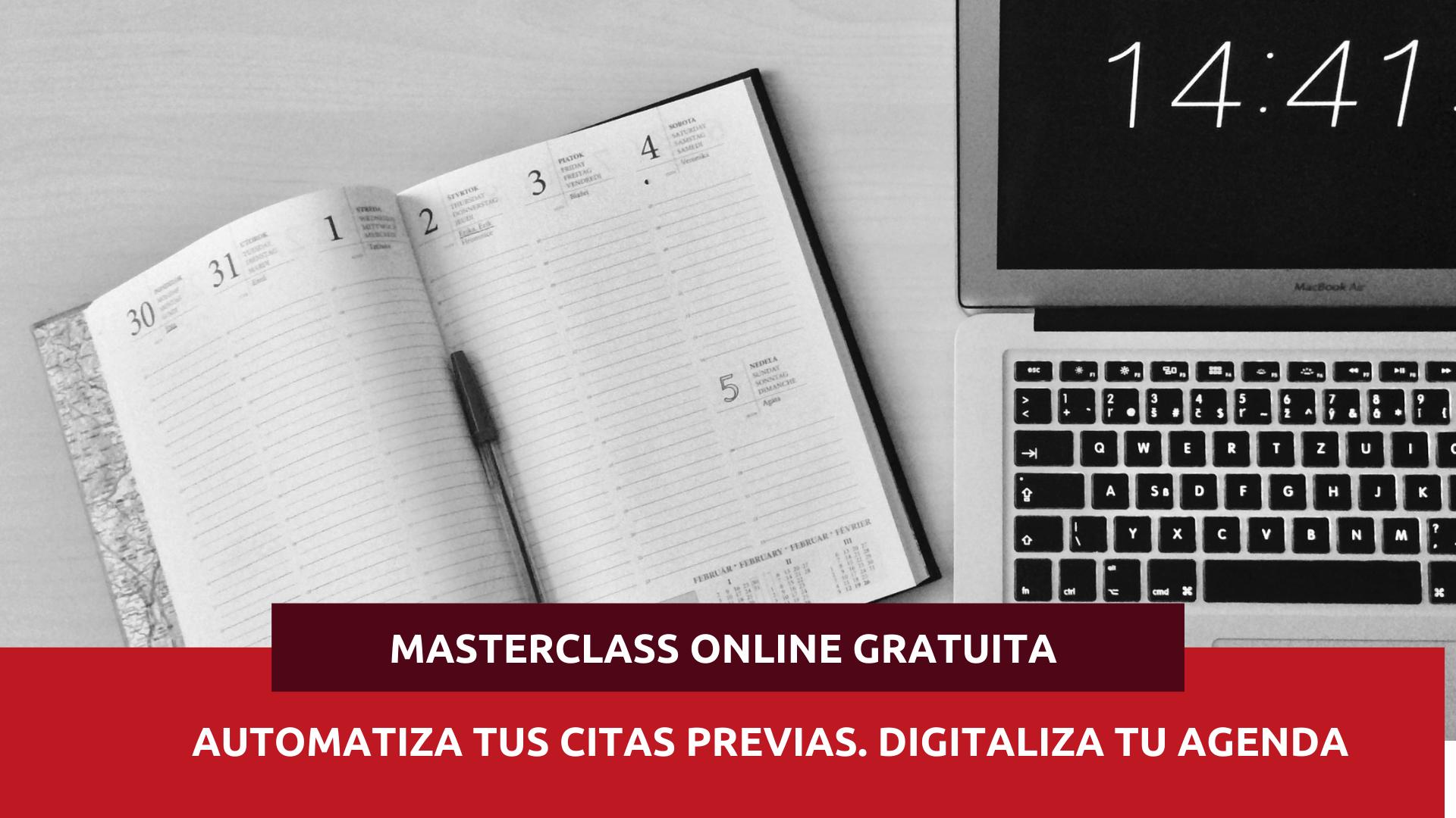 Masterclass agenda digital
